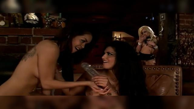 lesbian videos with strapon