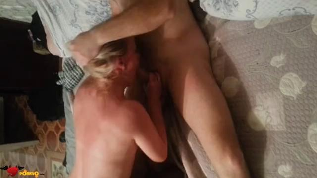 cum eating video